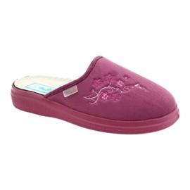 Befado obuwie damskie  pu 132D014 różowe 1
