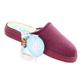 Befado obuwie damskie  pu 132D014 różowe 5