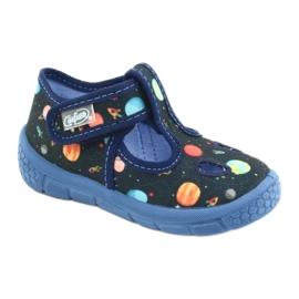 Befado  obuwie dziecięce  533P011 granatowe 1