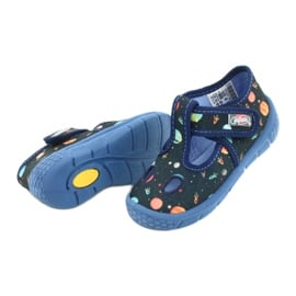 Befado  obuwie dziecięce  533P011 granatowe 4