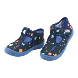 Befado  obuwie dziecięce  533P011 granatowe 3