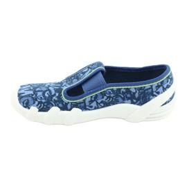 Befado obuwie dziecięce 290X221 niebieskie 2