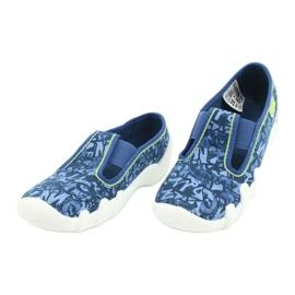 Befado obuwie dziecięce 290X221 niebieskie 3