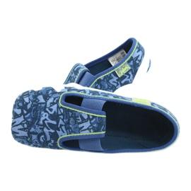 Befado obuwie dziecięce 290X221 niebieskie 5