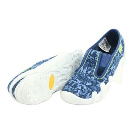 Befado obuwie dziecięce 290X221 niebieskie 4