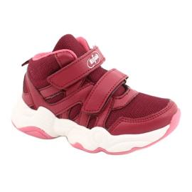 Befado obuwie dziecięce  516X053 różowe 1