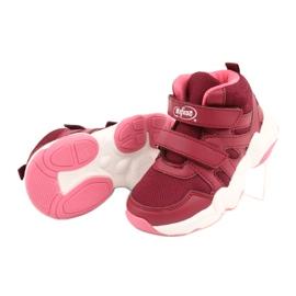 Befado obuwie dziecięce 516Y053 bordowy czerwone 4