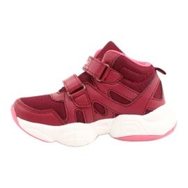 Befado obuwie dziecięce  516X053 różowe 2