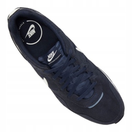 Buty Nike Venture Runner Suede M CQ4557-400 białe granatowe 3
