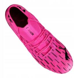 Buty piłkarskie Puma Future 6.1 Netfit Fg / Ag M 106179-03 różowy,czarny różowe 2