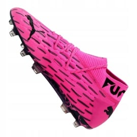Buty piłkarskie Puma Future 6.1 Netfit Fg / Ag M 106179-03 różowy,czarny różowe 4