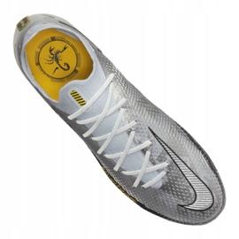 Buty piłkarskie Nike Phantom Gt Elite Se Fg M CT2156-001 srebrny wielokolorowe 2