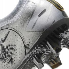 Buty piłkarskie Nike Phantom Gt Elite Se Fg M CT2156-001 srebrny wielokolorowe 6