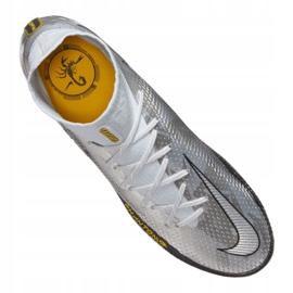 Buty piłkarskie Nike Phantom Gt Elite Df Se Fg M CZ3844-001 srebrny wielokolorowe 3