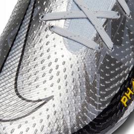 Buty piłkarskie Nike Phantom Gt Elite Df Se Fg M CZ3844-001 srebrny wielokolorowe 5