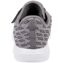 Buty dla dzieci Kappa Gizeh szare 260597K 1614 4