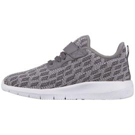 Buty dla dzieci Kappa Gizeh szare 260597K 1614 2