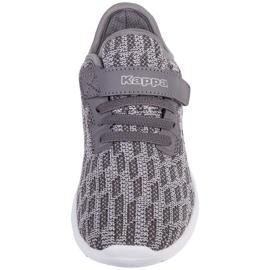 Buty dla dzieci Kappa Gizeh szare 260597K 1614 3