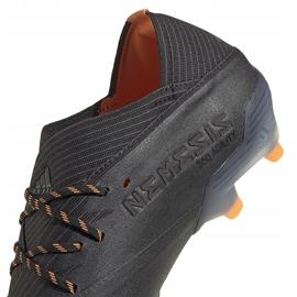 Buty piłkarskie adidas Nemeziz 19.1 Fg EH0830 czarne czarne 4