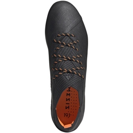 Buty piłkarskie adidas Nemeziz 19.1 Fg EH0830 czarne czarne 1