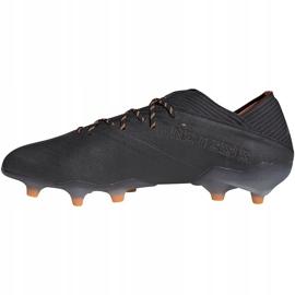 Buty piłkarskie adidas Nemeziz 19.1 Fg EH0830 czarne czarne 2