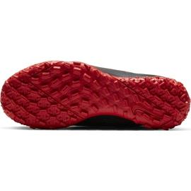 Buty piłkarskie Nike Mercurial Vapor 13 Academy Tf Junior AT8145 060 czarny,czerwony czarne 3