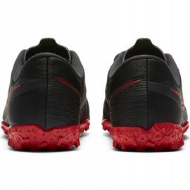 Buty piłkarskie Nike Mercurial Vapor 13 Academy Tf Junior AT8145 060 czarny,czerwony czarne 5