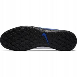 Buty piłkarskie Nike Tiempo Legend 8 Club Tf AT6109 104 biały,niebieski,czarny białe 8