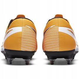 Buty piłkarskie Nike Mercurial Vapor 13 Academy SG-Pro Ac BQ9142 801 pomarańczowe pomarańczowe 4