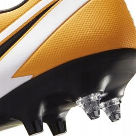 Buty piłkarskie Nike Mercurial Vapor 13 Academy SG-Pro Ac BQ9142 801 pomarańczowe pomarańczowe 6