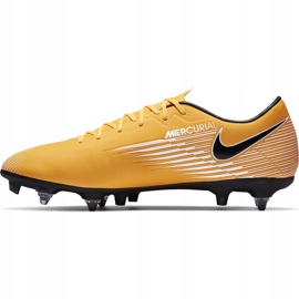 Buty piłkarskie Nike Mercurial Vapor 13 Academy SG-Pro Ac BQ9142 801 pomarańczowe pomarańczowe 2