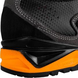 Buty trekkingowe Alpinus The Ridge Mid Pro antracytowo-pomarańczowe GR43288 szare 6