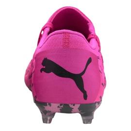 Buty piłkarskie Puma Future 6.1 Netfit Low Fg / Ag M 106182-03 różowe wielokolorowe 1