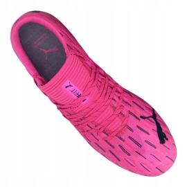 Buty piłkarskie Puma Future 6.1 Netfit Low Fg / Ag M 106182-03 różowe wielokolorowe 2