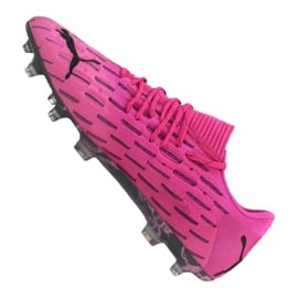 Buty piłkarskie Puma Future 6.1 Netfit Low Fg / Ag M 106182-03 różowe wielokolorowe 4
