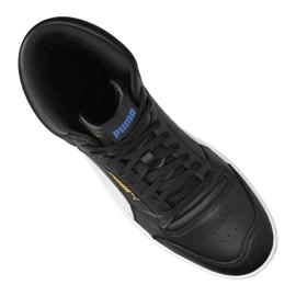 Buty do koszykówki Puma Ralph Sampson Mid M 370847-17 czarne 3