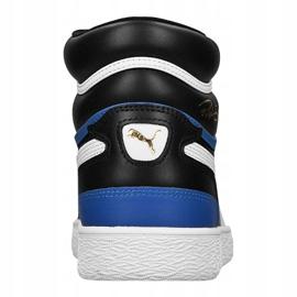 Buty do koszykówki Puma Ralph Sampson Mid M 370847-17 czarne 4