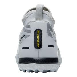 Buty piłkarskie Nike Phantom Gt Academy Df Se Tf Jr DA2289-001 srebrny wielokolorowe 2