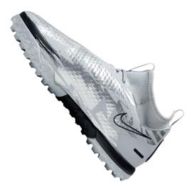 Buty piłkarskie Nike Phantom Gt Academy Df Se Tf Jr DA2289-001 srebrny wielokolorowe 5