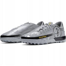 Buty piłkarskie Nike Phantom Gt Scorpion Academy Dynamic Fit Tf DA2263 001 srebrny srebrny 3