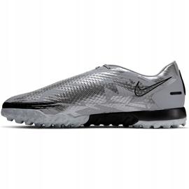 Buty piłkarskie Nike Phantom Gt Scorpion Academy Dynamic Fit Tf DA2263 001 srebrny srebrny 2