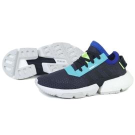 Buty adidas POD-S3.1 Jr EE6751 czarne zielone 1