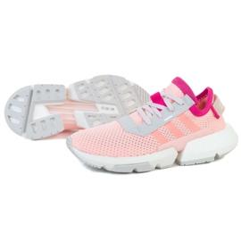 Buty adidas POD-S3.1 Jr EE8715 różowe zielone 1