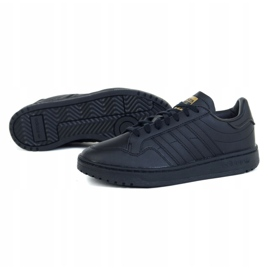 Buty adidas Team Court Jr EF6808 czarne zielone 1