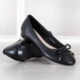 Goodin Eleganckie Baleriny czarne 2