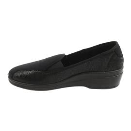 Befado obuwie damskie pu 034D002 czarne 2