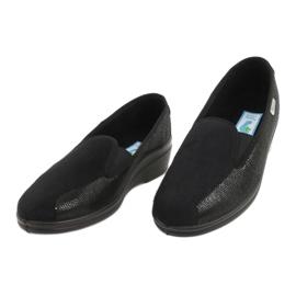 Befado obuwie damskie pu 034D002 czarne 3