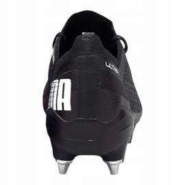 Buty piłkarskie Puma Ultra 1.1 Mx Sg M 106076-03 czarny, czarny, fioletowy czarne 1