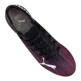 Buty piłkarskie Puma Ultra 1.1 Mx Sg M 106076-03 czarny, czarny, fioletowy czarne 2