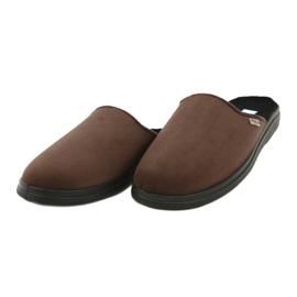 Befado obuwie męskie  pu 132M009 brązowe 3